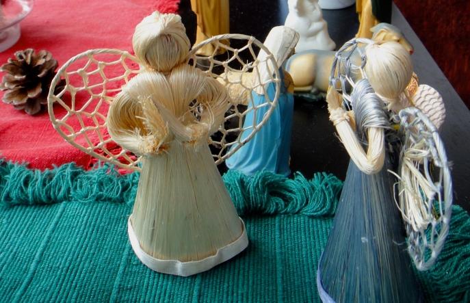 The angels gossip