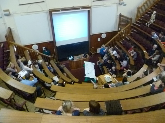 Students practice listening to interminable lectures prior  to returning home for the holidays. Courtesy:  http://www.geograph.org.uk/photo/2621134