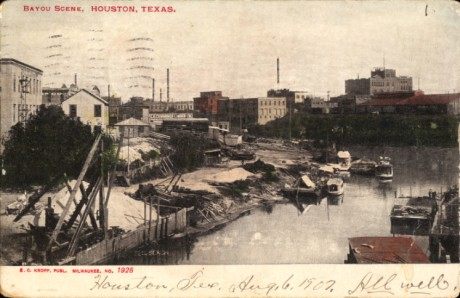 Bayou_Scene,_Houston,_Texas_(postcard,_circa_1907)