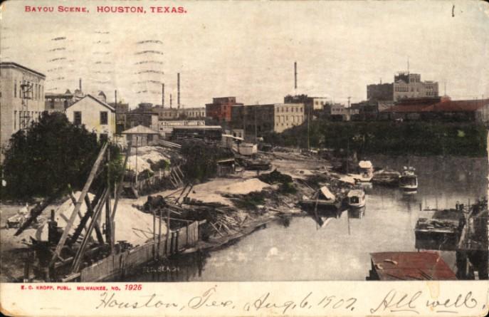 Bayou_Scene,_Houston,_Texas_(postcard,_circa_1907)